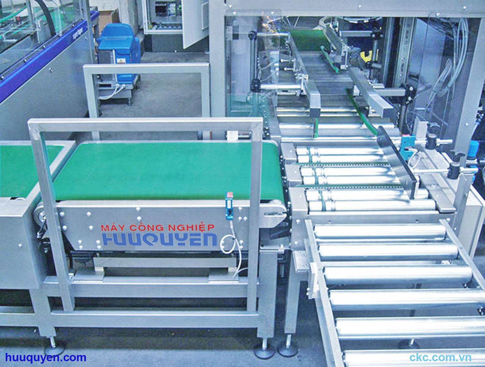 Hệ thống máy cân kiểm tra và phân loại sản phẩm