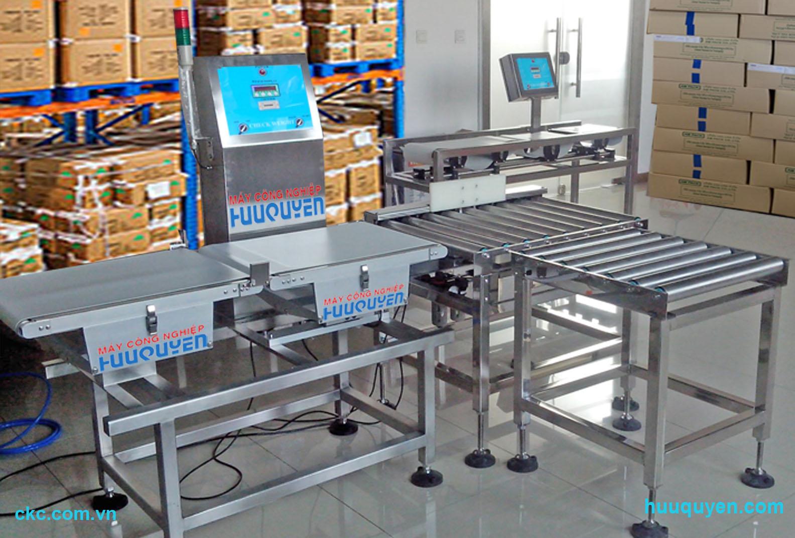 Cân băng tải checkweigher - băng chuyền phân loại