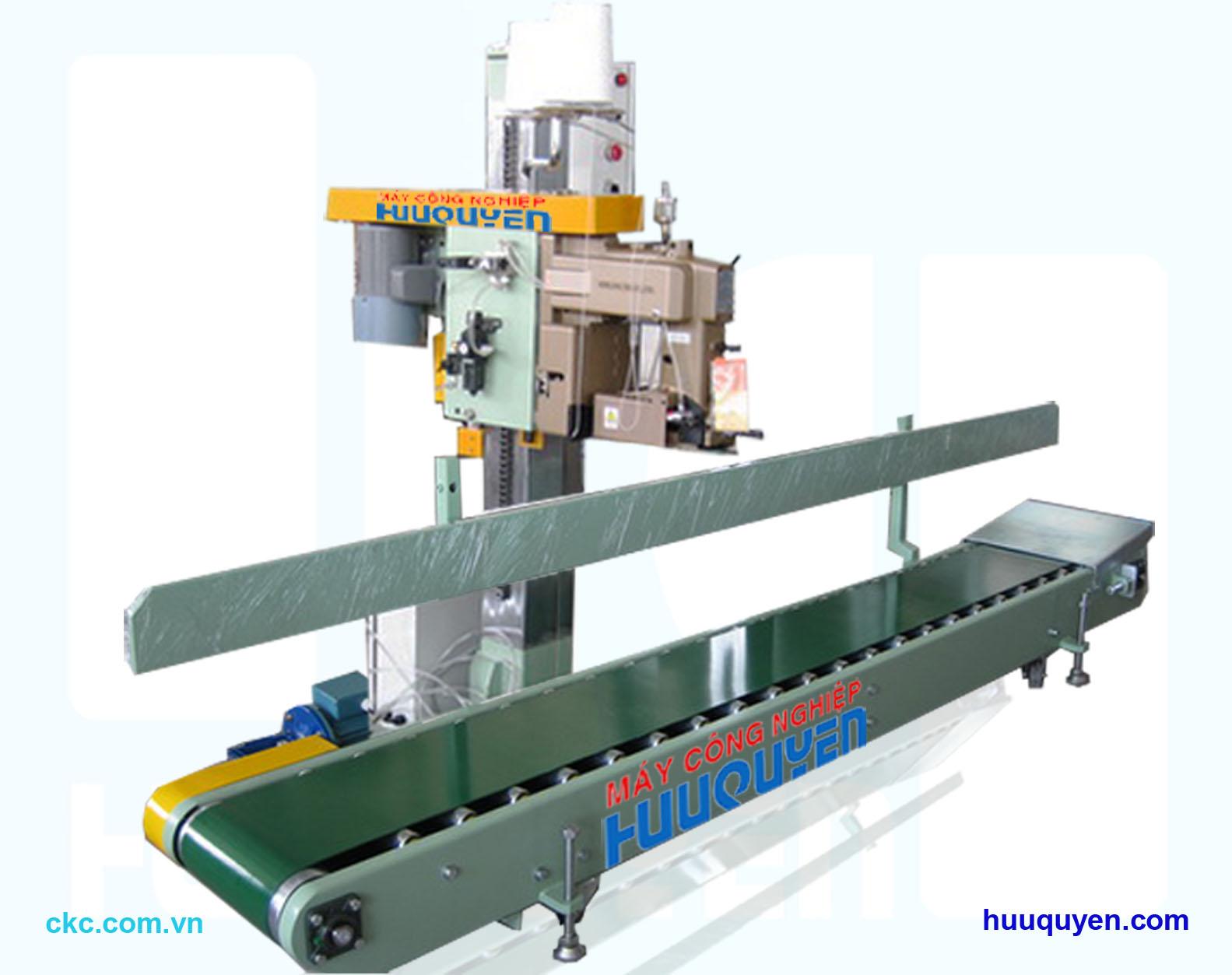 Băng tải may bao cho máy may miệng bao công nghiệp