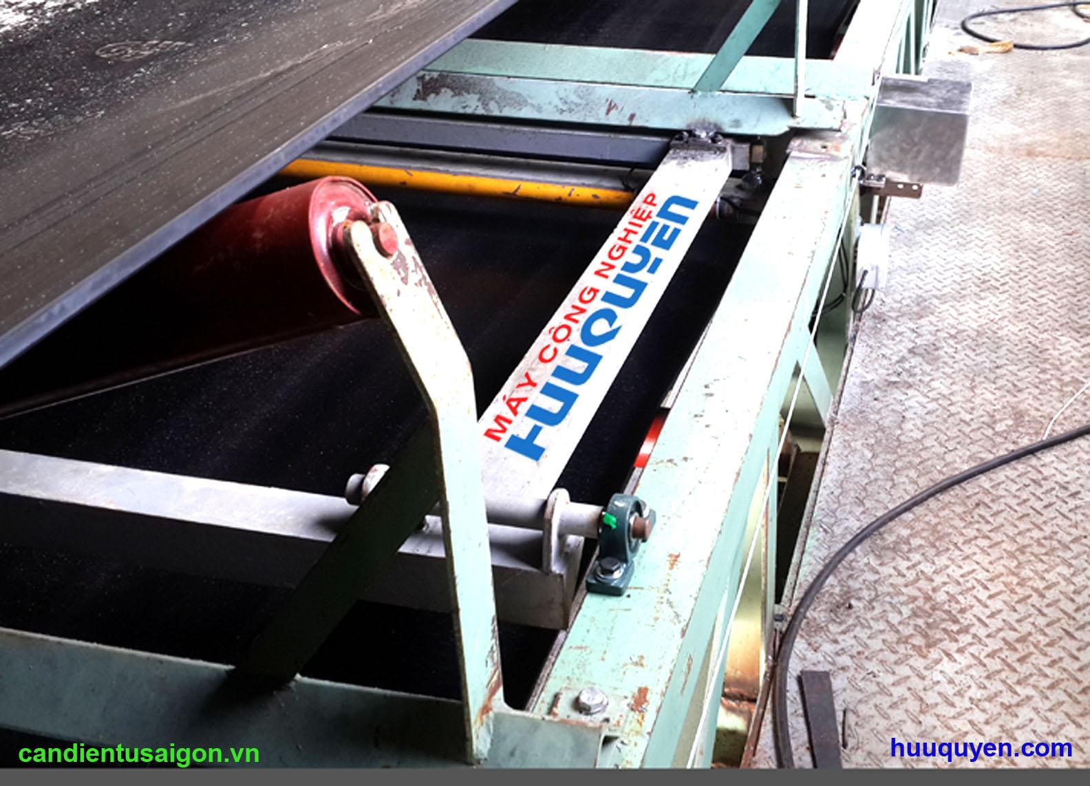 Modul loadcell cân định lượng bã mía gắn trên băng tải 2400mm