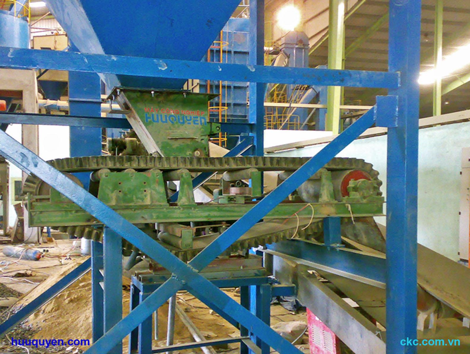 Modul loadcell cân băng tải phối trộn phân bón